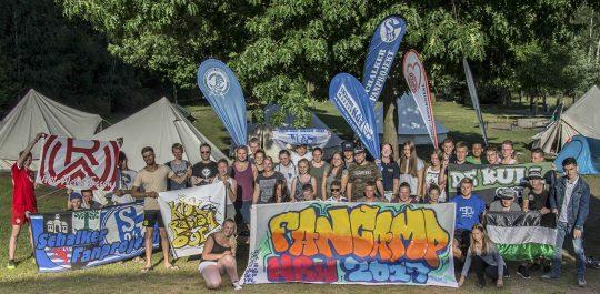 Fancamp Gruppenbild 2017